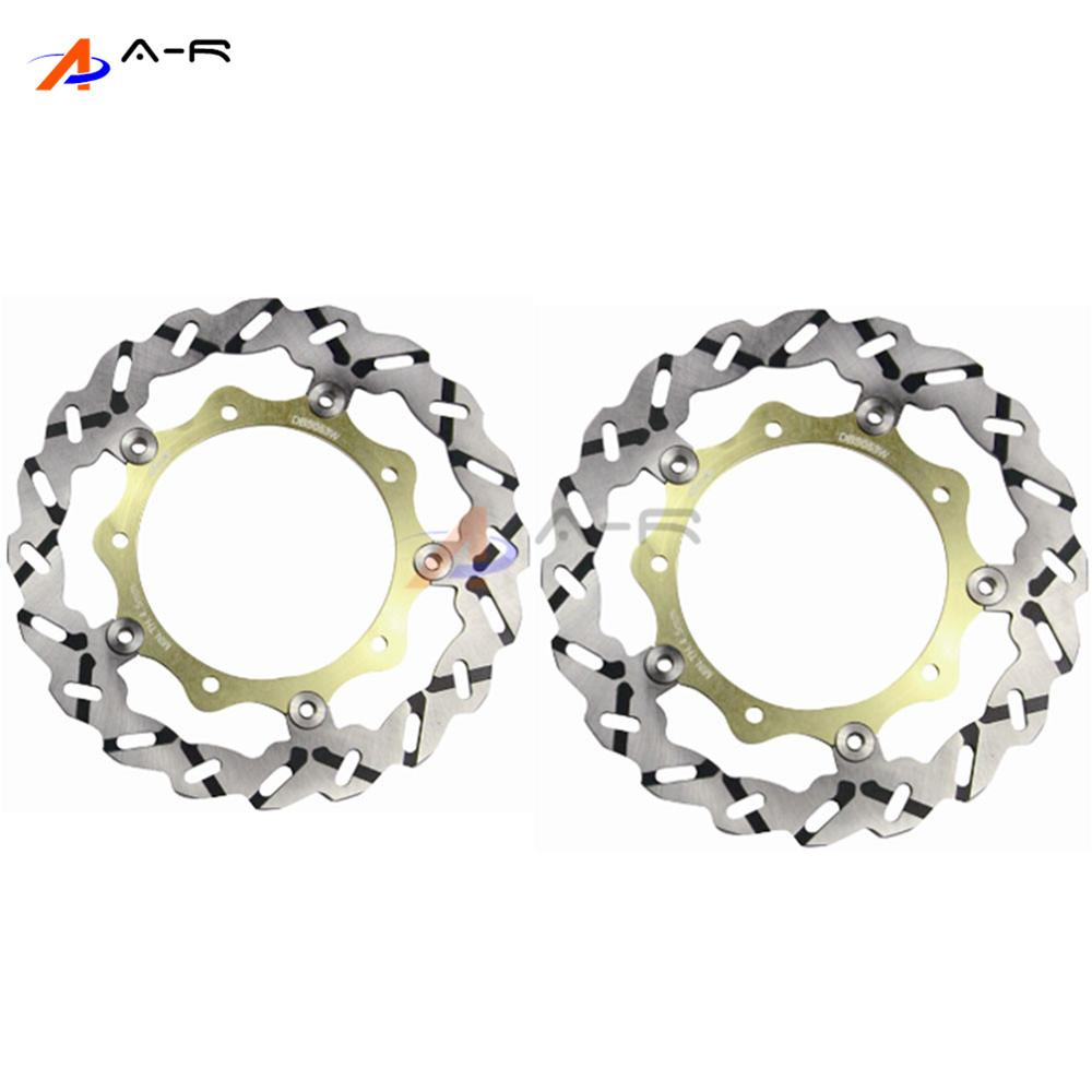 Front Brake Rotors Disc Braking Disks L/R for Yamaha YP400 MAJESTY ABS 07-11 XP 500 T-MAX 04-07 530 2012