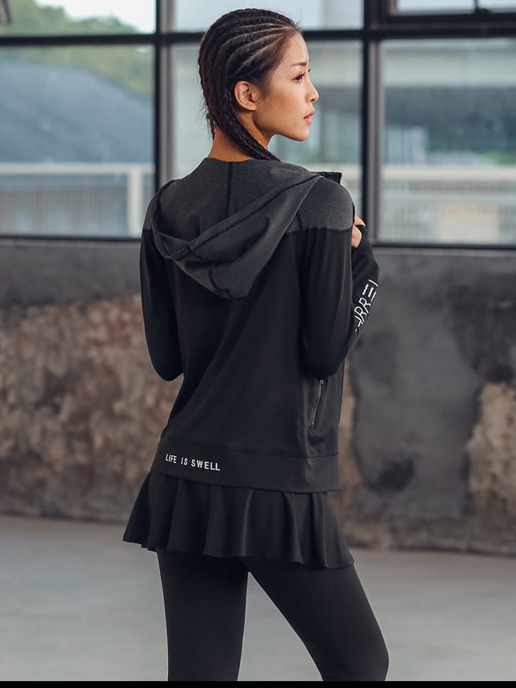 Custom Yoga/Running Jacket 14
