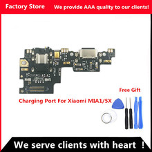 Q&Y QYJOY AAA Quality Charging Port For Xiaomi Mi A1/5X USB Dock Charging Port + Mic Microphone Moto Module For Mi A1/5X