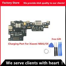 Q & Y QYJOY AAA kalite şarj portu için Xiaomi Mi A1/5X USB Dock şarj portu + Mic mikrofon Moto modülü Mi A1/5X