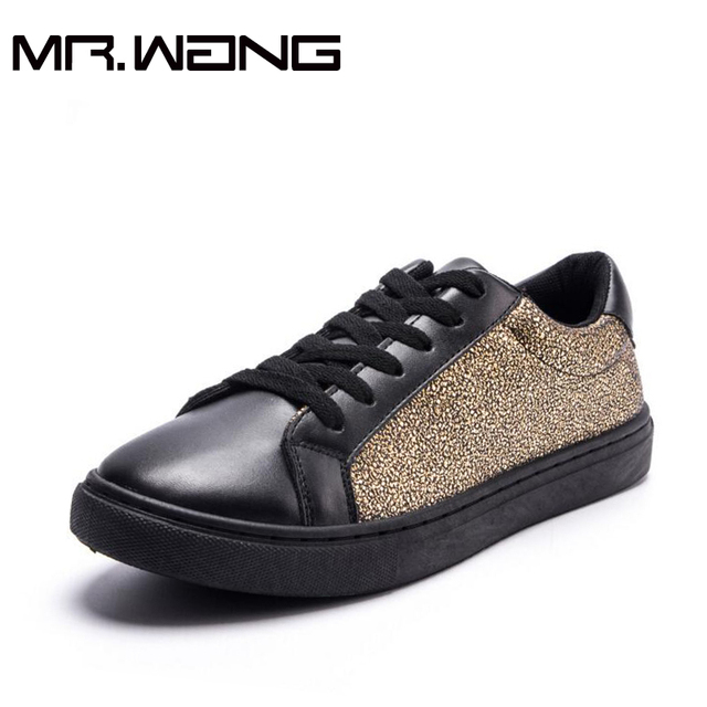 Alta Calidad Marca apatos Hombre Negro Hombres zapatos de cuero casual zapatos para caminar Zapatillas de DEPORTE zapatos de Los Planos de Luz BB-75