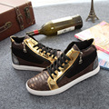 Free Shipping New Arrival Men Casual Shoes Fashion Leather Casual Shoes Lacing Autumn Walking Shoes Size 39~43