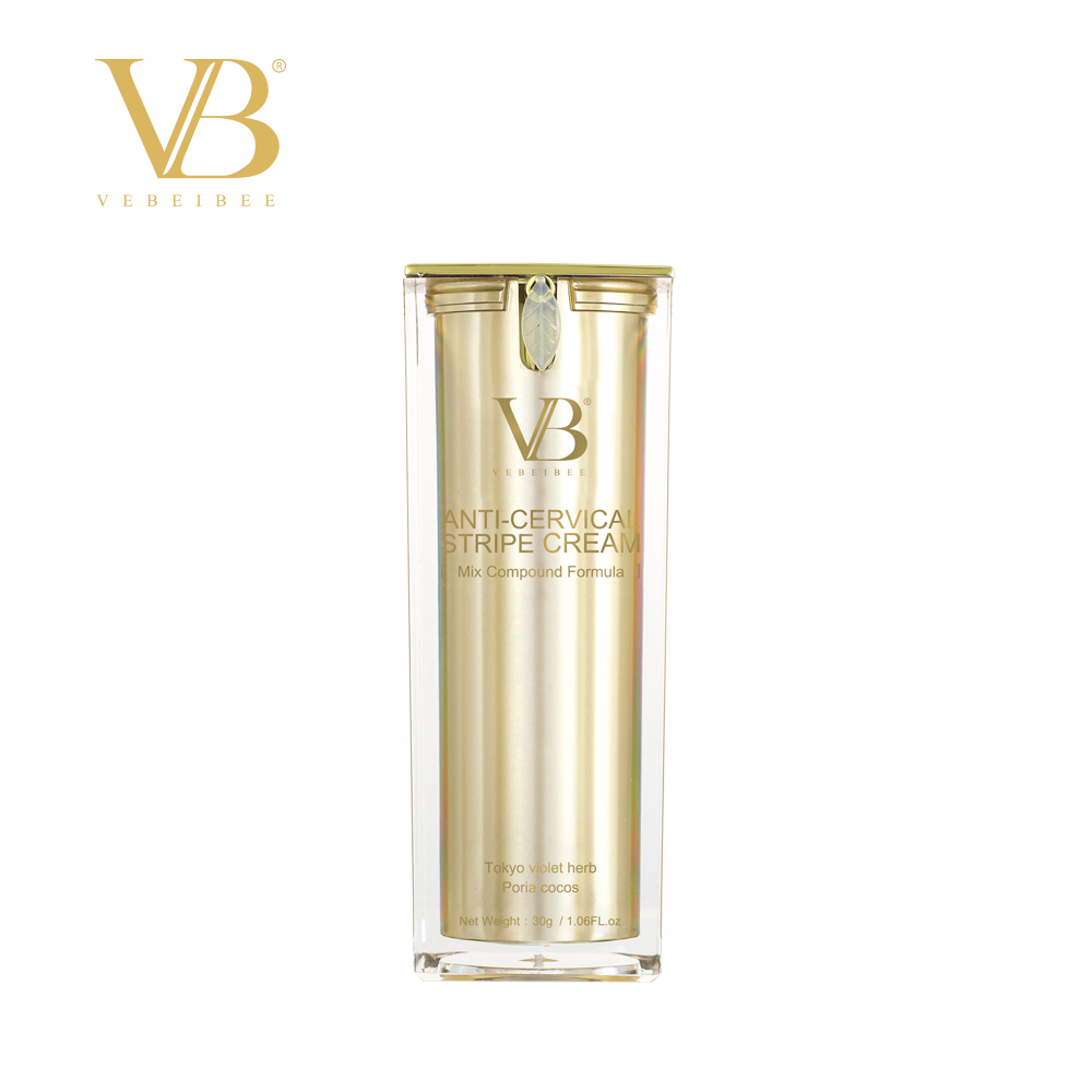 VEBEIBEE Anti-Cervical Stripe Cream, Mix Compound Formula,Deepen the collagen elasticity and keep neck firm.