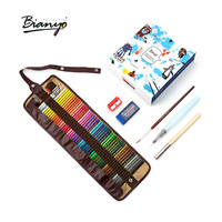 Bianyo Colour Pencils Art Set 72Colors Box Watercolor Pencil Pastel Drawing Rainbow Pencils School Supplies Professional