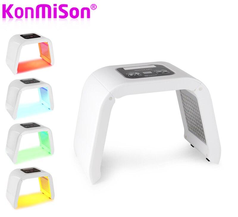 Konmison Photon PDT Led Light Facial Mask Machine 7 Colors Acne Treatment Face Whitening Skin Rejuvenation
