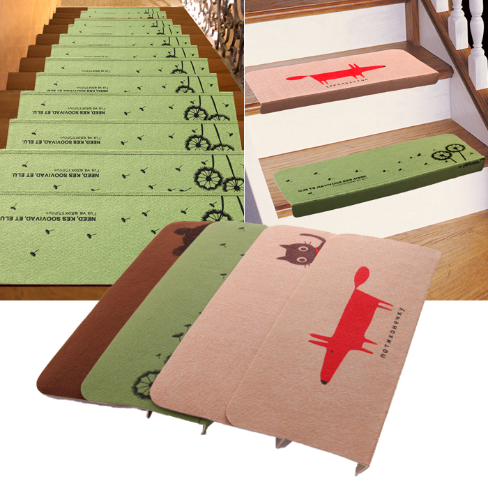 Soft Tread Anti Slip Coating : Stair pads carpet treads best set of steps