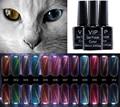 12 Colors Gel Nail Polish Vernis A Ongle 10ml Chameleon Mood Change Star Nail Oil CAT Gelpolish 3D Phantom Gel Lak Glue