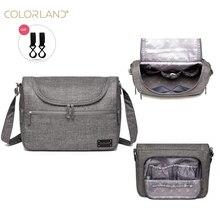 Colorland бренда детские сумки сумка-мессенджер Большой пеленки сумка-Органайзер дизайн Сумки для подгузников для мамы моды мать для беременных сумка для коляски
