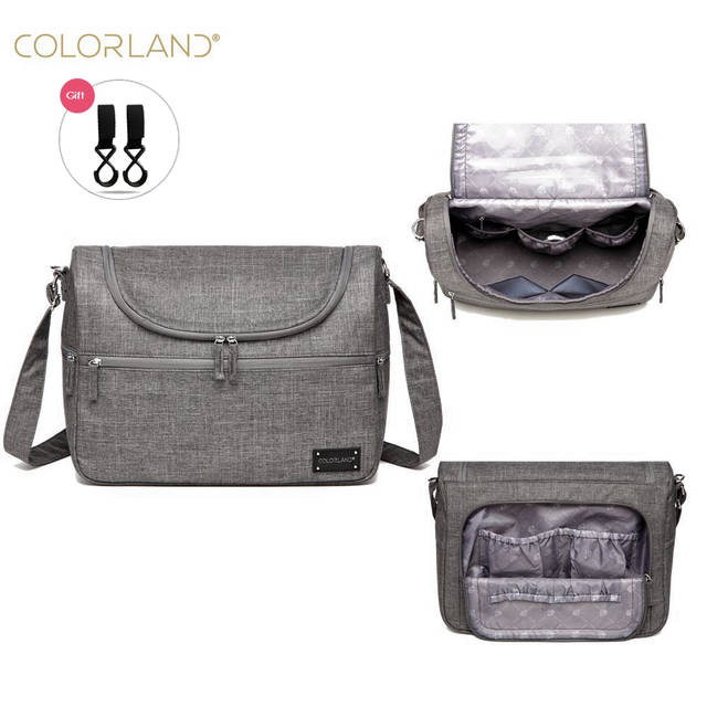 Colorland Brand Baby Bags Messenger Large Diaper Bag Organizer Design Nappy  Bags For Mom Fashion Mother 646ac190a76b