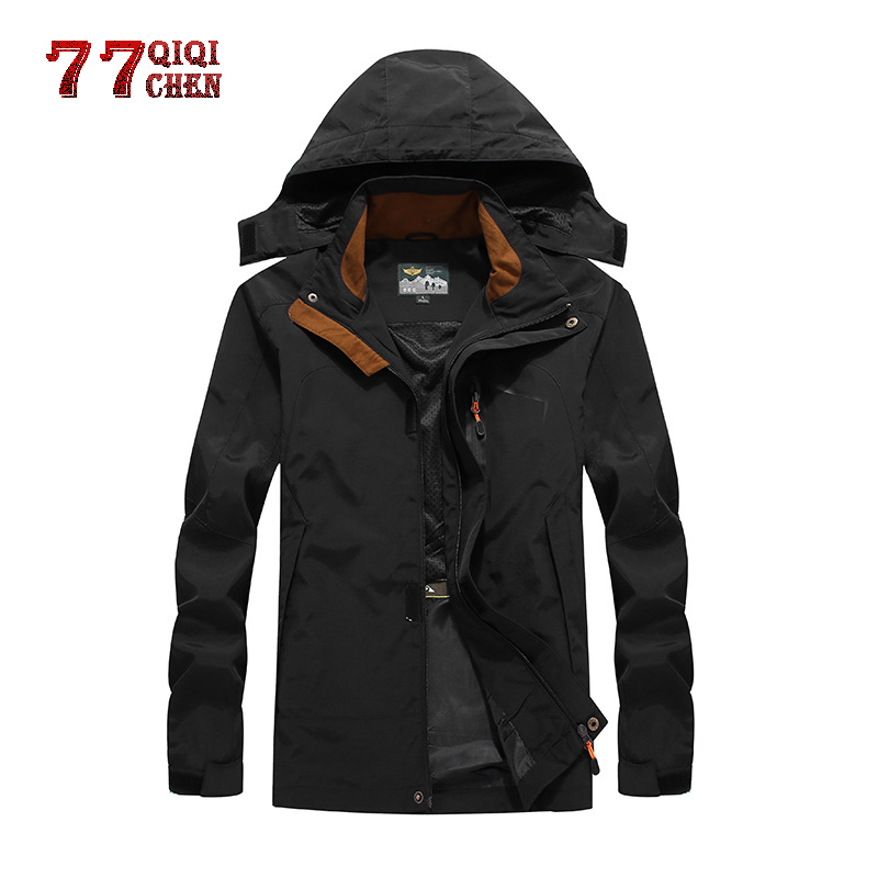 Men's Jacket Spring Casual Vento Corta 7XL Long-Sleeve Masculinolarge-Size