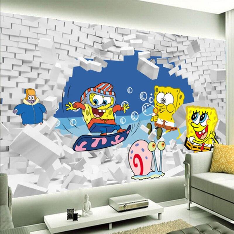 papel de parede bob esponja vender por atacado  papel de parede bob esponja