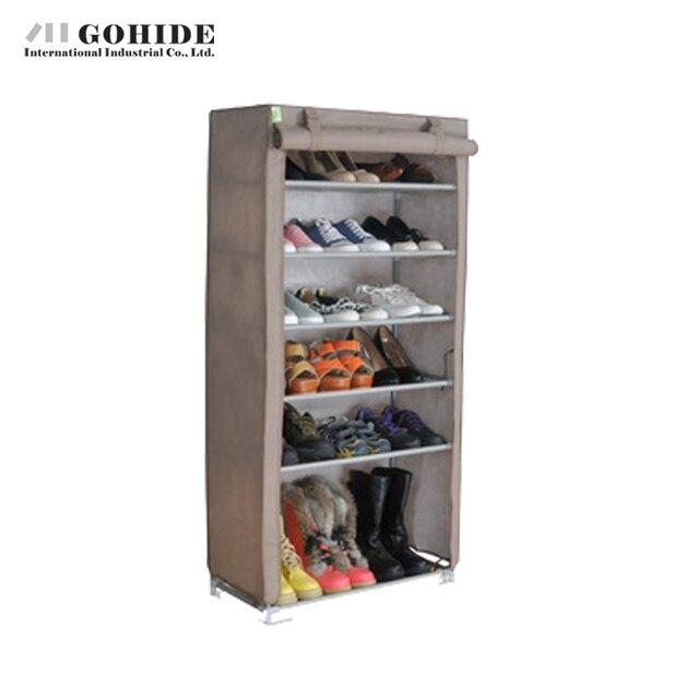 Gohide Multi-Functional Storage Cabinet Wd07-1 D1 Living Room Furniture Shoes Shelf Storage Cabinet Dustproof Folding Storage