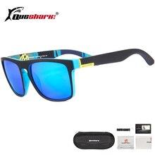 QUESHARK Colorful Cycling Sunglasses Polarized Road Bike Glasses Sports