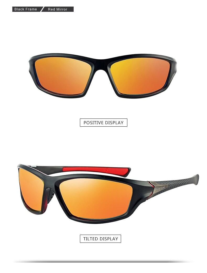 2020 Unisex 100% UV400 Polarised Driving Sun Glasses For Men Polarized Stylish Sunglasses Male Goggle Eyewears