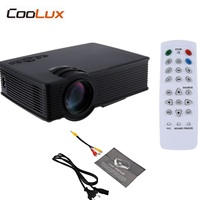 Coolux GP9 GP 9 Mini LCD Projector 800x480pixels Support 1080P 2000 Lumens Home Theater Multimedia HD Proyector
