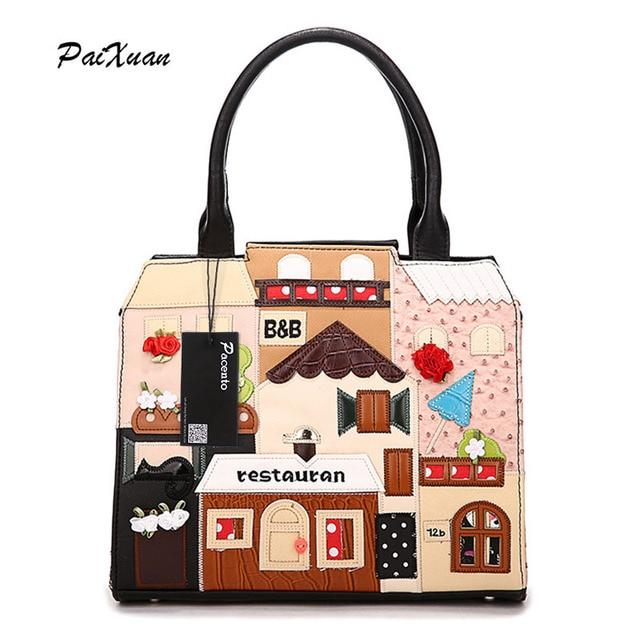 ddc2b102d327c Luksusowe torebki damskie torebki projektant messeng torby Włochy  Braccialini Style zespoły Beżowy Dom Messenger Krzyż Ciała