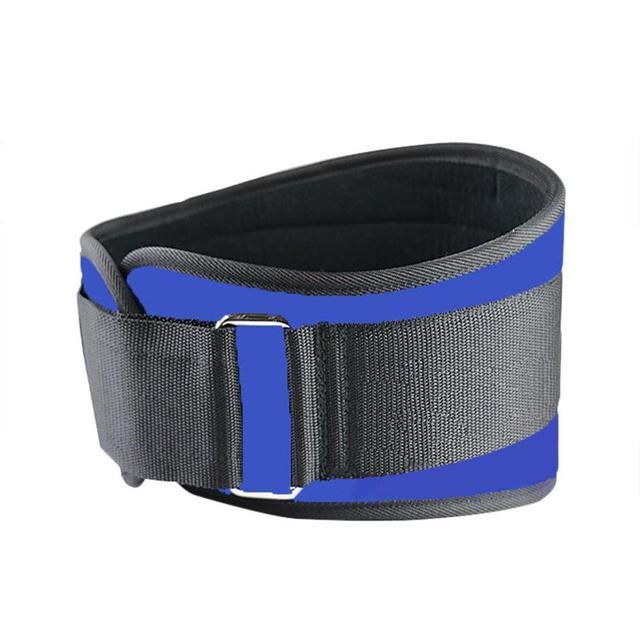 Men And Women Lumbar Waist Support Waist Trimmer Belt Unisex Exercise Weight Loss Burn Shaper Gym Fitness Sports Training Belt