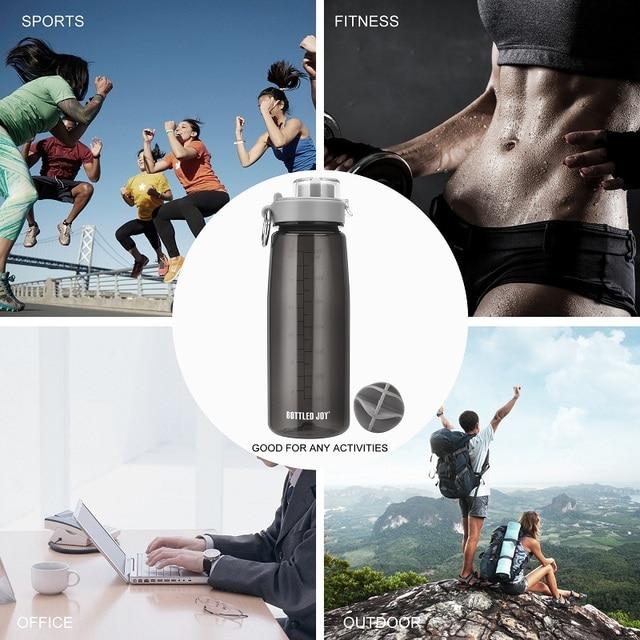 800ml Tritan BPA Free Leak Proof Water Bottle With Cover 5