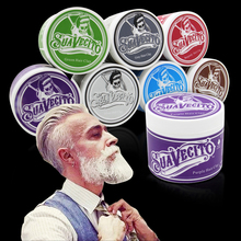1 piece Original Pomade Hair Coloring hair styling wax mud hair clay Gray Purple Green Burgundy Brown Blue Silver Black