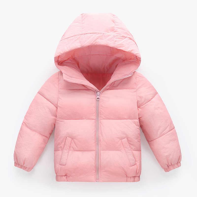 아동 의류 2018 가을, 겨울 새로운 얇은 어린이 코트 주름 패브릭 작은 남성과 여성 아기 짧은 코트 MF-212