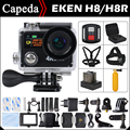 "Action camera EKEN H8 / H8R VR360 ultra 4K / 30fps WiFi 2.0""Dual LCD Remote Controller pro Helmet Cam go waterproof sport camera"