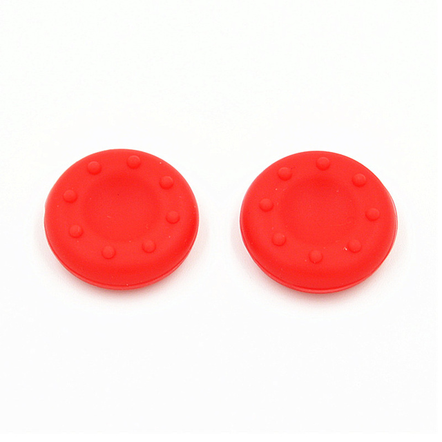 2pcs Rubber Silicone Cap Thumbstick Thumb Stick X Cover Case Skin Joystick Grip Grips For PS2/3/4 XBOX 36E Controller JLRL88 3