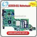 603939-001, placa madre del ordenador portátil para HP DV6-6000 placa base, placa