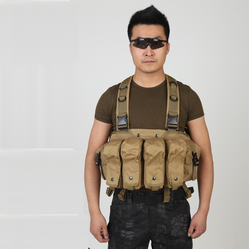 Multi-functional lightweight tactical vest AK Dudou male outdoor CS field WG protective equipment special forces combat vest