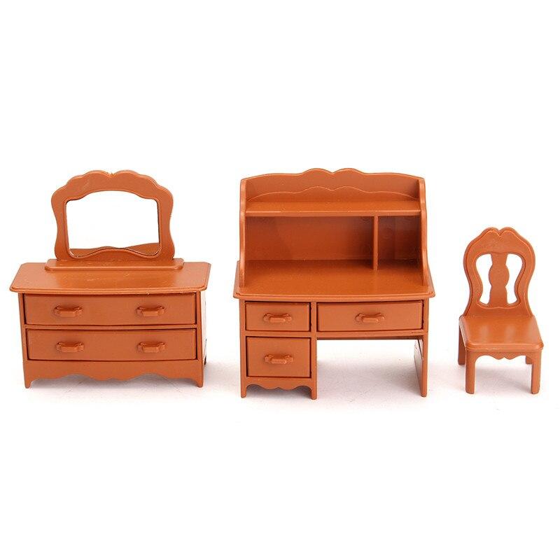 New-Vintage-Miniature-Bedroom-Furniture-Set-Dresser-Desk-Mirror-Furniture-Toys-Set-for-Kids-Christmas-Gift-Dollhouse-Accessories-3