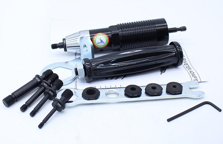 M4-M10 riveter adaptor riveting nut 3