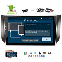 2 Din 10 1 Car Stereo Android 7 1 Quad core Autoradio GPS Navigation Support SWC