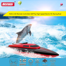 Hot sell Skytech-H101 rc boat 2.4GHz Remote Control Boat High Speed RC Boat Toys With 7.4V 1500 Battery up 150M vs Wltoys WL915