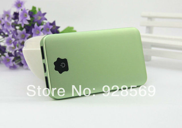Patent design Elegant gift 8800mAh Portable Power Bank External Battery rechargeable with Holder for iphone iPad mini nice color