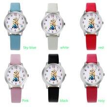 Ot03 новый мультфильм 3D Дети часы хороший подарок детям часы Гадкий я Миньоны модные наручные часы