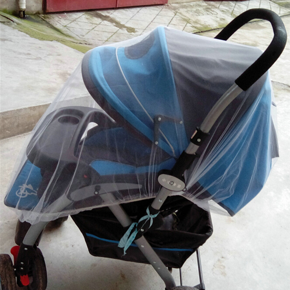 Universal Baby Mosquito Net for Strollers, Carriers, Car Seats, Cradles (60 x 47 Inch)