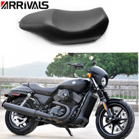 Motorcycle Leather Driver Seat Pad Pillion Cushion For Harley XG500 XG750 Street Seat News