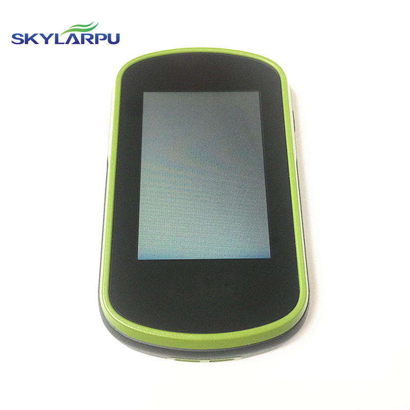 skylarpu (green) LCD screen for GARMIN etrex touch 35 Handheld GPS LCD display Screen with Touch screen digitizer Free shipping ручка дверная morelli diy 02р sn cp никель белый хром