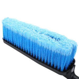 Image 3 - Long Handle Car Soft Wash Brush Cleaning Tool Water Flow Switch Foam Bottle Spray Wheel Car Body Windshield Washing Brush