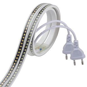 Image 1 - SMD4040 HA CONDOTTO il nastro senza trasformatore di striscia del LED 220 V impermeabile luce di striscia 220 V bianco bianco caldo ledstrip fascia nastro della banda