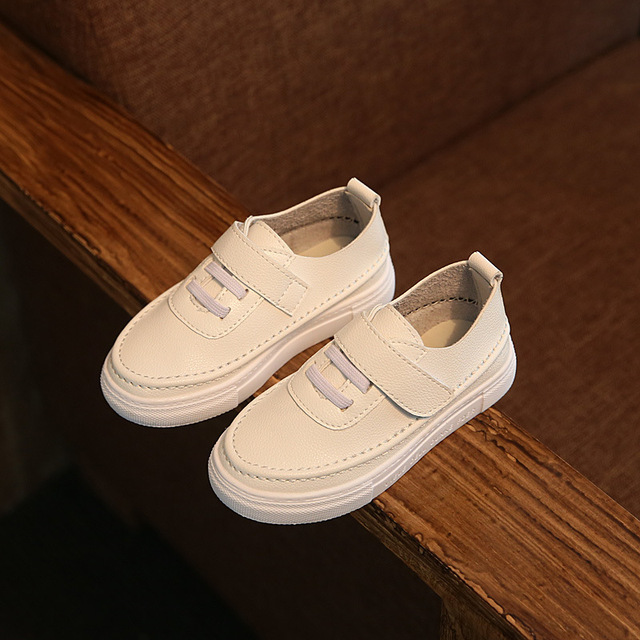 Newborn Baby Girl Boy leather Shoes PU Leather Soft Soled Non SlipShoes Baby Moccasins Moccs Slip-on Loafers Flats Shoes