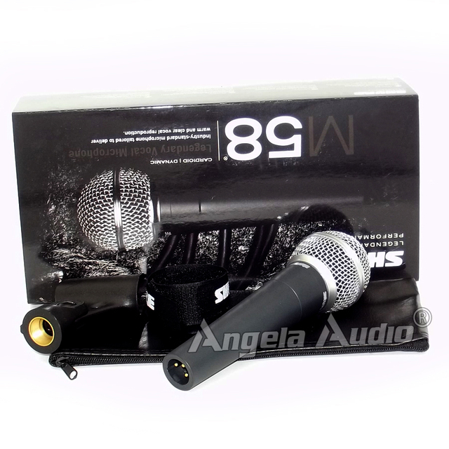 Top Quality Unidirectional Cardioid Dynamic Vocal Wired Microphone Mike For SM58LC SM 58 A 58S 58LC 58SH Microfone Microfono Mic