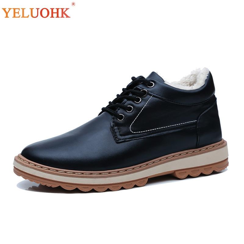 c7d36123d54800 Black 44 Bottes Fourrure Chaud Lacent Hommes blue En D'hiver 2018 Peluche  Chaussures 39 Hiver fw7qCq