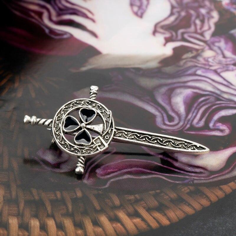 Shelock Holme Shylock Hannibal Metal Badge Brooch Pin Strap Pre-order Gift Pre N