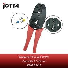 Купить с кэшбэком WX-04WFL crimping tool crimping plier 2 multi tool tools hands Ratchet Crimping Plier (European Style)