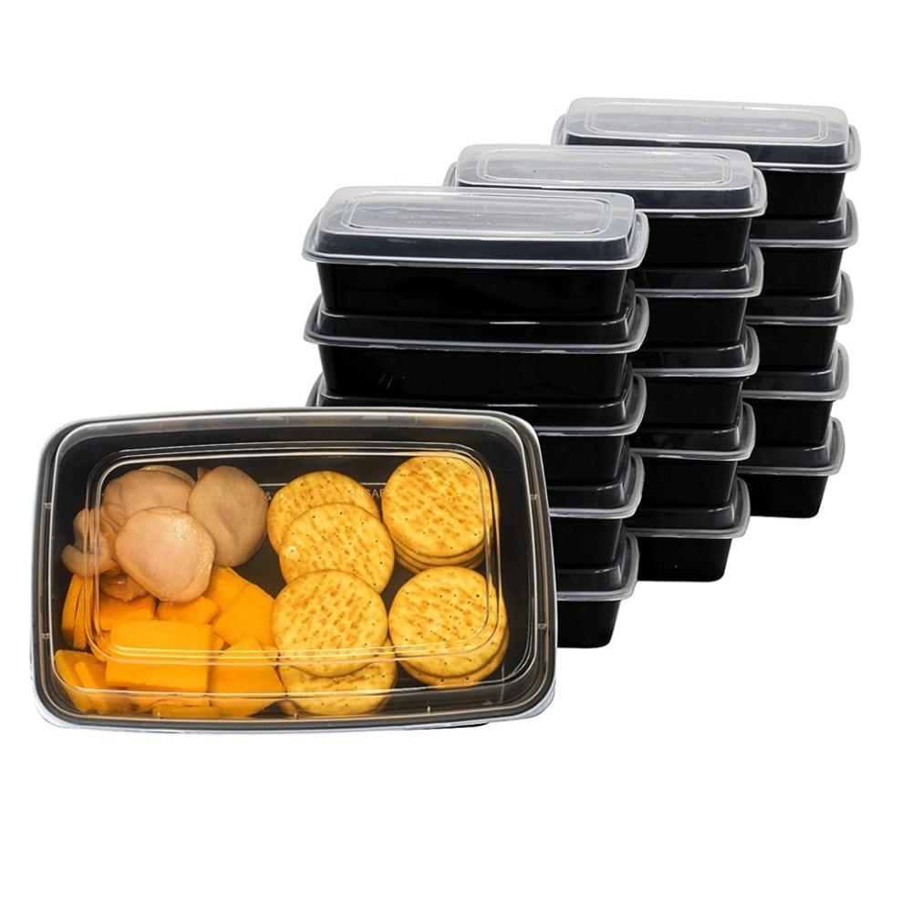 5 10pcs Preu Disposable Food Storage Containers Safe