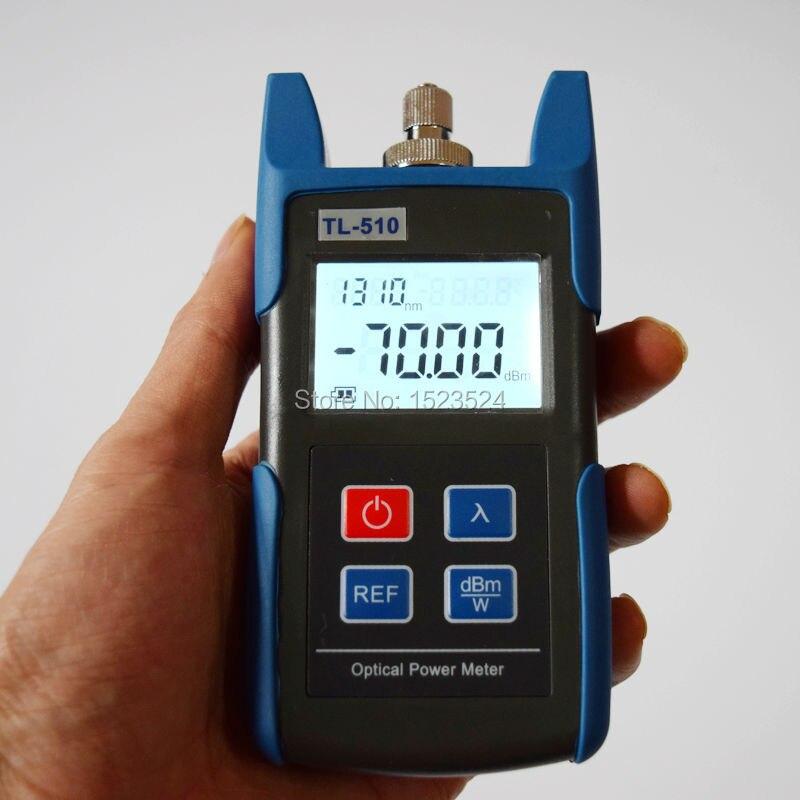 FTTH Оптический мультиметр TL510A оптический измеритель мощности+ TL512 1310/1550nm оптический светильник источник