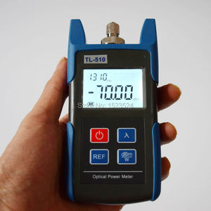 Image 3 - FTTH Optical Multimeter TL510A Optical Power Meter + TL512 1310/1550nm Optical Light Source