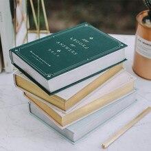 """""""Respostas livro ver.2"""" grande capa dura diário forrado papéis freenote estudo de trabalho caderno papelaria presente"""