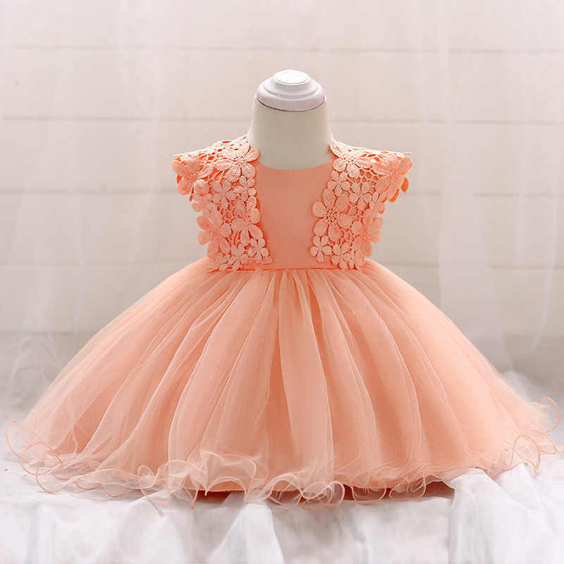 1f40efe6c Baby dress Princess Girl wear Sleeveless Lace Dress for 0-3 year birthday  party Toddler