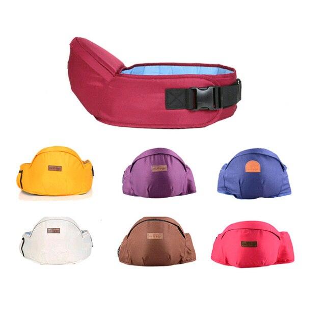 Organic Cotton Ergonomic Baby Carrier Hipseat Waist Stool Walkers Hold Waist Belt Backpack Hipseat Belt Kids Infant Hip Seat